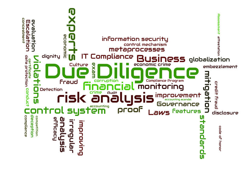 virtual data room for due diligence